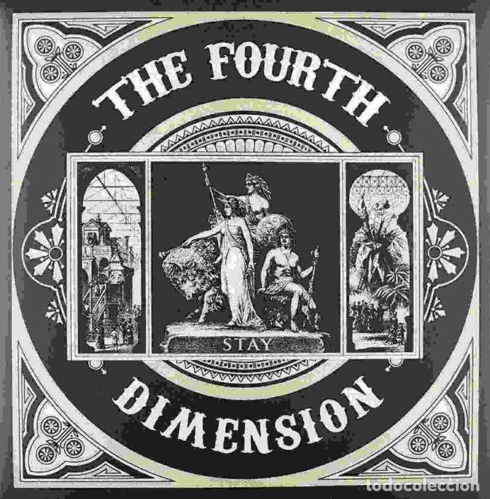 LP THE FOURTH DIMENSION - STAY - ORIGINAL SPAIN 2012- INDIE ROCK -PSYCHEDELIC ROCK. (Música - Discos - LP Vinilo - Grupos Españoles de los 90 a la actualidad)