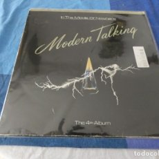 Discos de vinilo: MODERN TALKING IN THE MIDDLE OF NOWHERE THE 4TH ALBUM PORTADA CON NERIVOS VINILO OK. Lote 203901481