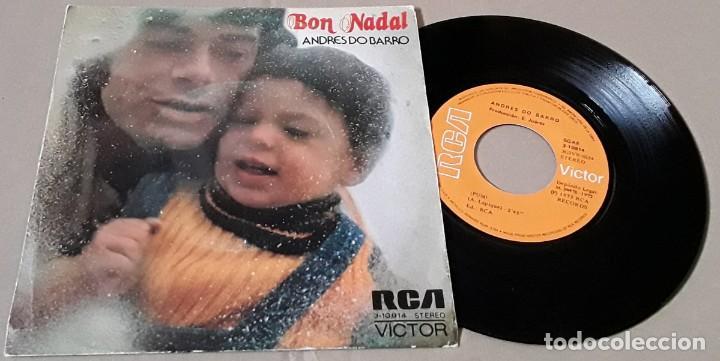 SINGLE- ANDRÉS DO BARRO - BON NADAL - ANDRÉS DO BARRO - BON NADAL - PUM (Música - Discos - Singles Vinilo - Grupos y Solistas de latinoamérica)