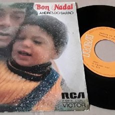 Discos de vinilo: SINGLE- ANDRÉS DO BARRO - BON NADAL - ANDRÉS DO BARRO - BON NADAL - PUM. Lote 203910450