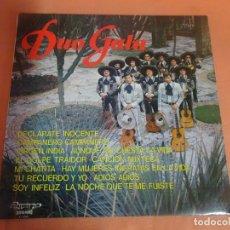 Discos de vinilo: LP, DUO GALA, DECLARATE INOCENTE, OLYMPO, VER FOTOS. Lote 203910621