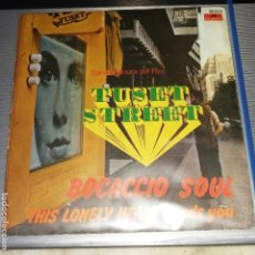 Discos de vinilo: BOCACCIO SOUL SOUL, SINGLE BSO TUSET STREET. Lote 203911596