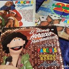 Discos de vinilo: LOTE 3 LPS PARCHIS. Lote 203912880
