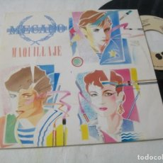 Discos de vinilo: MECANO - MAQUILLAJE .. SINGLE PROMOCIONAL, GRABADO SOLO UNA CARA - CBS - 1982. Lote 203913225