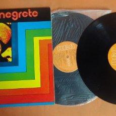 Discos de vinilo: DOBLE LP, JORGE NEGRETE - RCA, VER FOTOS. Lote 203913876
