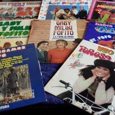 Discos de vinilo: LOTE 8 LPS GABY FOFO Y MILIKI - HABIA UNA VEZ UN CIRCO LOS PAYASOS DE LA TELE. Lote 216778495