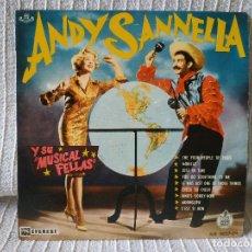 Discos de vinilo: ANDY SANNELLA Y SU MUSICAL FELLAS - EP HISPAVOX HR 0027-01 ESPAÑA AÑO 1960 ETIQUETA PROMO IMPECABLE. Lote 203919295