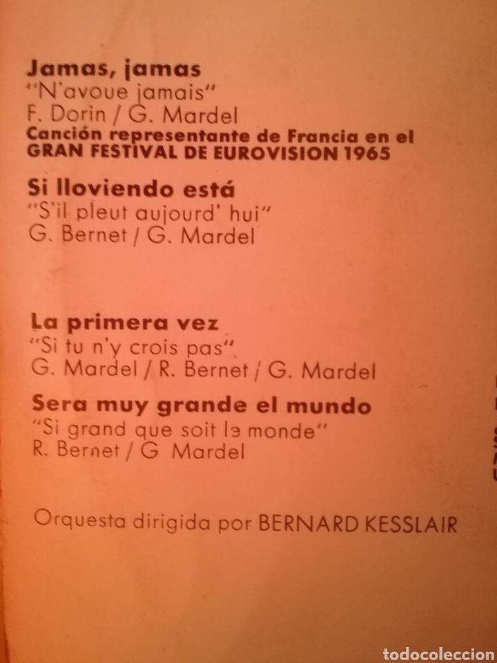 Discos de vinilo: GUY MARDEL. EP EUROVISIÓN. SELLO HISPAVOX. EDITADO EN ESPAÑA. AÑO 1965 - Foto 2 - 203922106