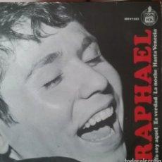 Discos de vinilo: RAPHAEL. EP EUROVISIÓN. SELLO HISPAVOX. EDITADO EN ESPAÑA. AÑO 1966. Lote 203922838