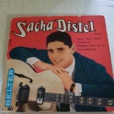 Discos de vinilo: SACHA DISTEL: MUY RARO EP BELTER SPAIN -MUSICA FRANCIA-OPORTUNIDAD COLECCIONISTAS FRANCIA. Lote 203924590