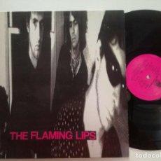 Discos de vinilo: THE FLAMING LIPS - ST - LP CITY SLANG ALEMANIA 1990 // INDIE ROCK DISCO DE VINILO. Lote 203928705