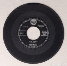 Discos de vinilo: ELVIS PRESLEY WITH THE JORDANAIRES SINGLE KING CREOLE DIXIELAND ROCK. Lote 203930842
