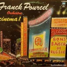 Disques de vinyle: FRANCK POURCEL ORCHESTRA CINEMA 1 CARPETA ABIERTA 2 LPS. Lote 203938838