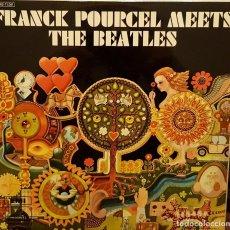 Disques de vinyle: FRANCK POURCEL MEETS - THE BEATLES. Lote 203939026