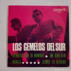 Discos de vinilo: LOS GEMELOS DEL SUR. UN DON DIN... VERGARA 10.042-C. 1968. DEDICADO. FUNDA VG+. DISCO VG+.. Lote 203940855