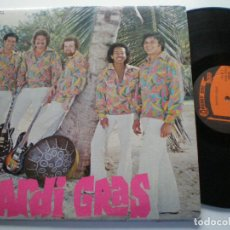 Discos de vinilo: MARDI GRAS - ST - LP VINYL MERRY DISC BARBADOS 1974 // CARIBBEAN STEEL DRUM CALYPSO. Lote 203945250