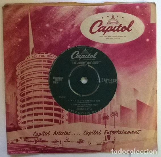 JOHNNY OTIS. THE JOHNNY OTIS HAND JIVE/ RING-A-LING/ WILLIE DID THE CHA CHA/ CRAZY COUNTRY HOP. 1959 (Música - Discos de Vinilo - EPs - Funk, Soul y Black Music)