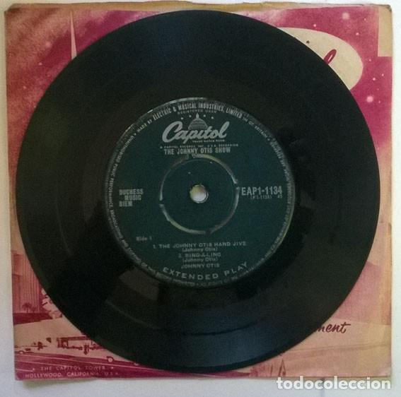Discos de vinilo: Johnny Otis. The Johnny Otis hand jive/ Ring-a-ling/ Willie did the cha cha/ Crazy country hop. 1959 - Foto 3 - 203950088