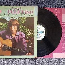 Discos de vinilo: JOSÉ FELICIANO - ESCENAS DE AMOR. EDITADO POR RCA. AÑO 1.982. TIENE LETRAS DE LAS CANCIONES. Lote 203951110