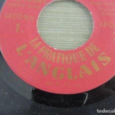 Discos de vinilo: CURSO DE INGLES EN DISCOS DE VINILO ASSIMIL. Lote 203951446