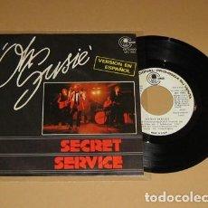 Discos de vinilo: SECRET SERVICE - OH SUSIE - EN ESPAÑOL - SINGLE - 1982. Lote 203959291