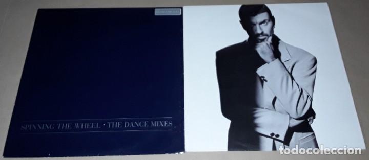 2 MAXI SINGLE- GEORGE MICHAEL - FASTLOVE / I'M YOUR MAN - SPINNING THE WHEEL - THE DANCE MIXES (Música - Discos de Vinilo - Maxi Singles - Pop - Rock Extranjero de los 90 a la actualidad)