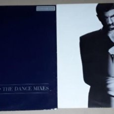 Discos de vinilo: 2 MAXI SINGLE- GEORGE MICHAEL - FASTLOVE / I'M YOUR MAN - SPINNING THE WHEEL - THE DANCE MIXES. Lote 203962471