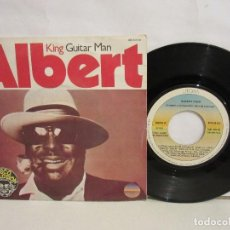 Discos de vinilo: ALBERT KING - GUITAR MAN / RUB MY BACK - SINGLE - 1976 - SPAIN - VG/VG. Lote 203965757