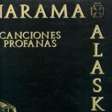Discos de vinilo: ALASKA Y DINARAMA - CANCIONES PROFANAS. Lote 203976288