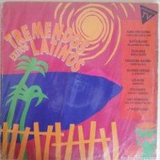 Discos de vinilo: DISCO DE VINILO DOBLE LP TREMENDOS LATINOS. Lote 203976848