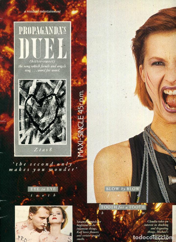 PROPAGANDA DUEL (Música - Discos de Vinilo - Maxi Singles - Pop - Rock - New Wave Internacional de los 80)