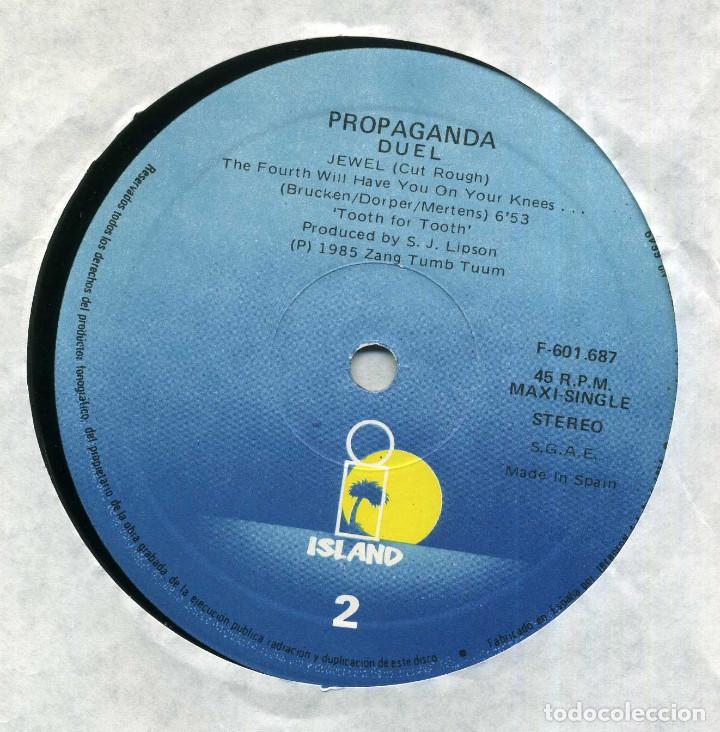 Discos de vinilo: PROPAGANDA DUEL - Foto 3 - 203977158