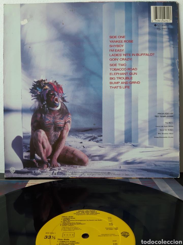 Discos de vinilo: DAVID LEE ROTH. EAT EM AND SMILE. PROMOCIONAL . WB RECORDS. 1986. SPAIN. - Foto 2 - 203977196