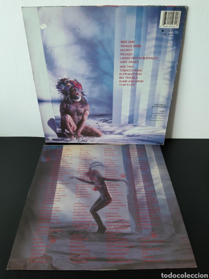 Discos de vinilo: DAVID LEE ROTH. EAT EM AND SMILE. PROMOCIONAL . WB RECORDS. 1986. SPAIN. - Foto 4 - 203977196