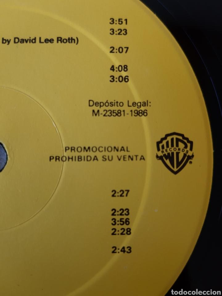 Discos de vinilo: DAVID LEE ROTH. EAT EM AND SMILE. PROMOCIONAL . WB RECORDS. 1986. SPAIN. - Foto 6 - 203977196