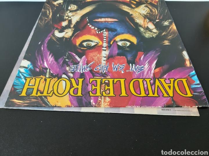 Discos de vinilo: DAVID LEE ROTH. EAT EM AND SMILE. PROMOCIONAL . WB RECORDS. 1986. SPAIN. - Foto 8 - 203977196