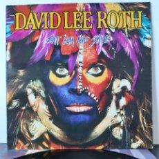 Discos de vinilo: DAVID LEE ROTH. EAT 'EM AND SMILE. PROMOCIONAL . WB RECORDS. 1986. SPAIN.. Lote 203977196