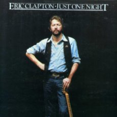 Discos de vinilo: ERIC CLAPTON - JUST ONE NIGHT. Lote 203979140
