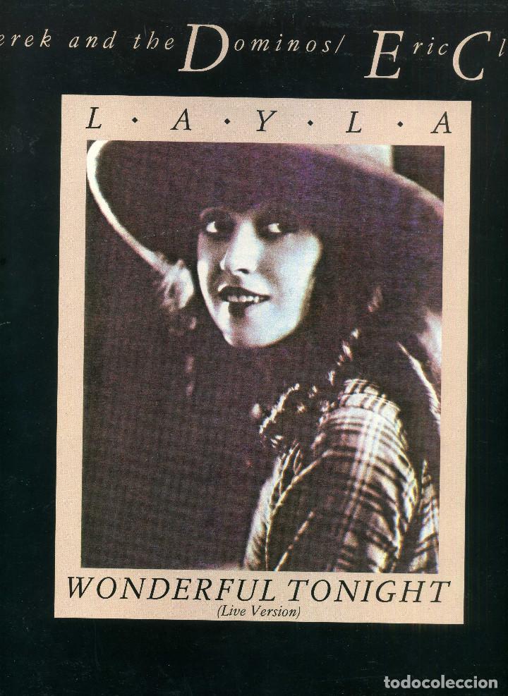 ERIC CLAPTON - LAYLA (Música - Discos de Vinilo - Maxi Singles - Pop - Rock - New Wave Internacional de los 80)