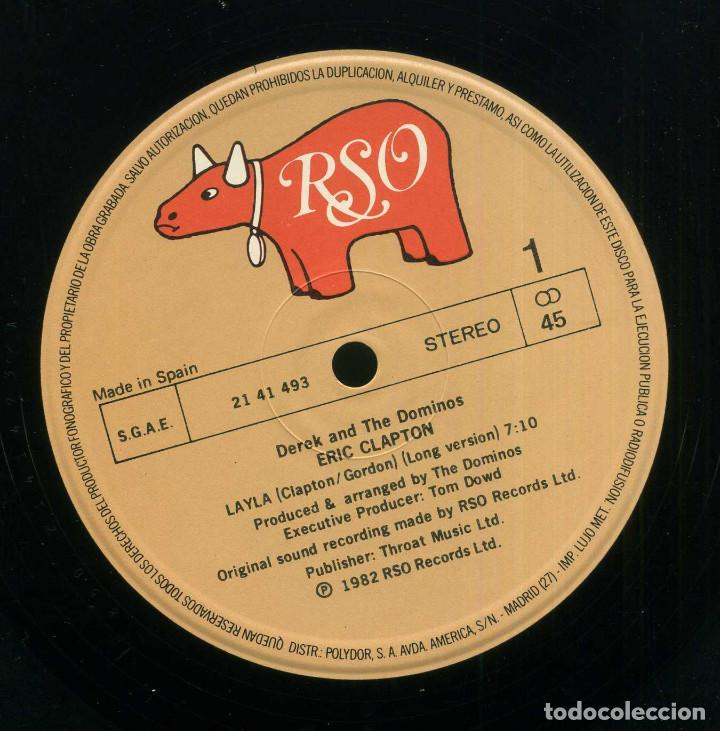 Discos de vinilo: ERIC CLAPTON - LAYLA - Foto 3 - 203980872