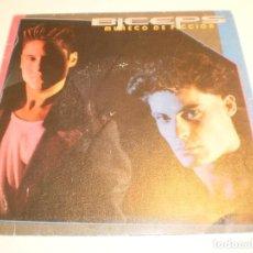Discos de vinilo: SINGLE BICEPS. UN MUÑECO DE FICCIÓN. LA FIESTA FINAL. EPIC 1985 SPAIN (PROBADO, BIEN, BUEN ESTADO). Lote 203982272