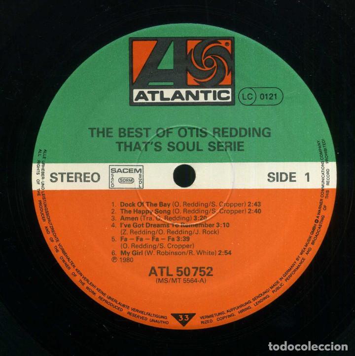 Discos de vinilo: OTIS REDDING - GRANDES EXITOS - Foto 3 - 203985662