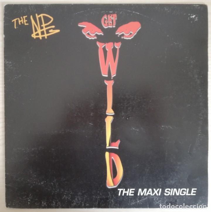 DISCO DE VINILO NPG--GET WILD--MAXI (Música - Discos de Vinilo - Maxi Singles - Funk, Soul y Black Music)