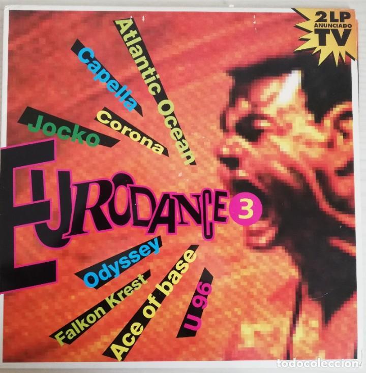 DISCO DE VINILO DOBLE LP EURODANCE 3 (Música - Discos - LP Vinilo - Techno, Trance y House)
