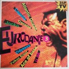 Discos de vinilo: DISCO DE VINILO DOBLE LP EURODANCE 3. Lote 203987157