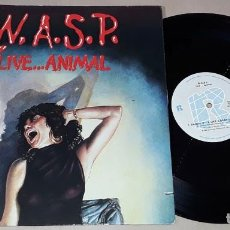 Discos de vinilo: W.A.S.P. - LIVE...ANIMAL - MADE IN USA - WASP - LIVE ANIMAL. Lote 203987513