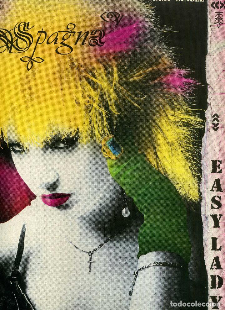 SPAGNA - EASY LADY (Música - Discos de Vinilo - Maxi Singles - Pop - Rock - New Wave Internacional de los 80)