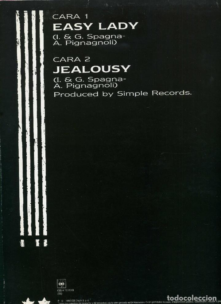 Discos de vinilo: SPAGNA - EASY LADY - Foto 2 - 203988361