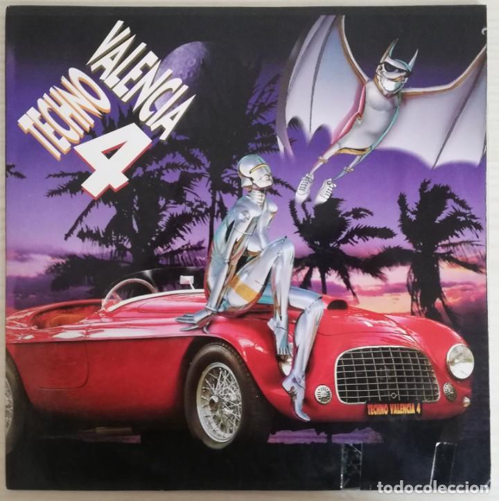 DISCO DE VINILO DOBLE TECHNO VALENCIA 4 (Música - Discos - LP Vinilo - Techno, Trance y House)