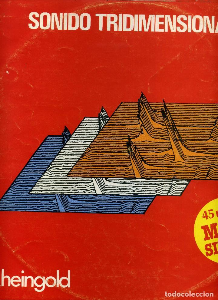 RHEINGOLD - SONIDO TRIDIMENSIONAL (Música - Discos de Vinilo - Maxi Singles - Pop - Rock - New Wave Internacional de los 80)